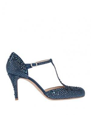 Туфли BALLIN. Цвет: синий