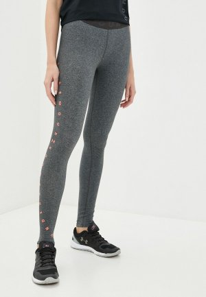 Тайтсы Under Armour Favorite Graphic Legging. Цвет: серый