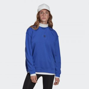 Свитшот Adicolor Essentials Originals adidas. Цвет: синий
