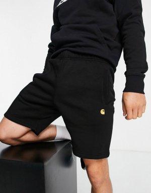 Черные трикотажные шорты Chase-Черный цвет Carhartt WIP