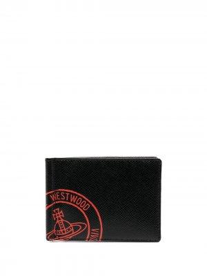 Бумажник Kent Vivienne Westwood. Цвет: черный