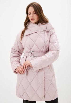 Куртка утепленная Odri Mio. Цвет: розовый