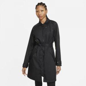 Женский тренч из тканого материала Nike Sportswear Windrunner - Черный