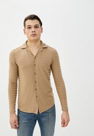 Рубашка Dali. Цвет: бежевый