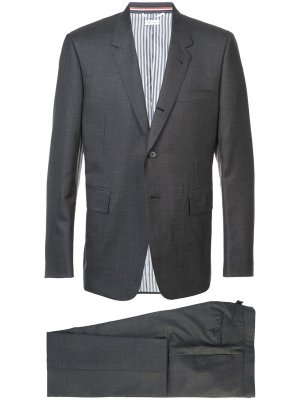 Classic two-piece suit Thom Browne. Цвет: серый