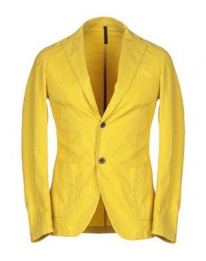 Пиджак ALV ANDARE LONTANO VIAGGIANDO. Цвет: желтый
