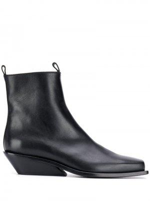 Ботинки челси с квадратным носком Ann Demeulemeester. Цвет: черный