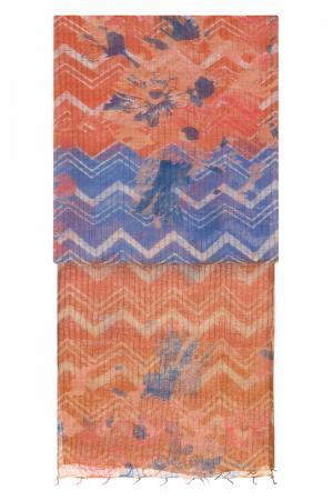 Палантин Michel Katana. Цвет: персиковый, оранжевый, лиловый