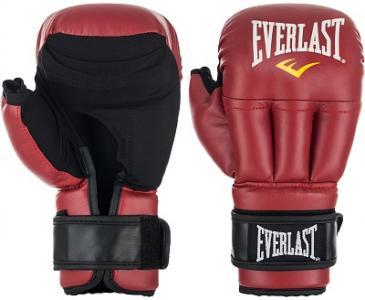 Перчатки для рукопашного боя Everlast. Цвет: красный