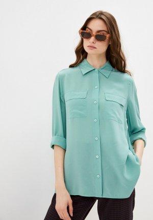 Блуза Gerard Darel. Цвет: бирюзовый