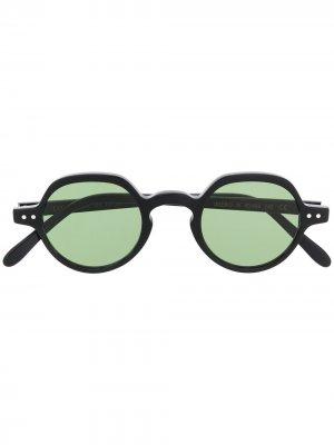 Солнцезащитные очки Imero в круглой оправе Epos. Цвет: черный