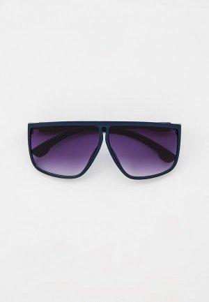 Очки солнцезащитные Marco Bonne`. Цвет: синий