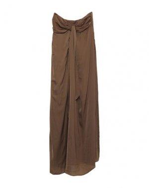 Длинное платье G.SEL. Цвет: хаки