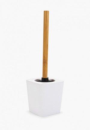 Ершик для унитаза Dcasa D'casa Bamboo. Цвет: белый