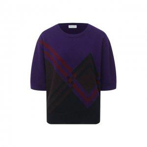 Пуловер из кашемира и шерсти Dries Van Noten. Цвет: разноцветный