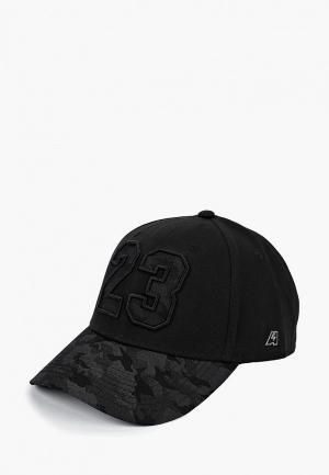 Бейсболка Atributika & Club™ №23. Цвет: черный