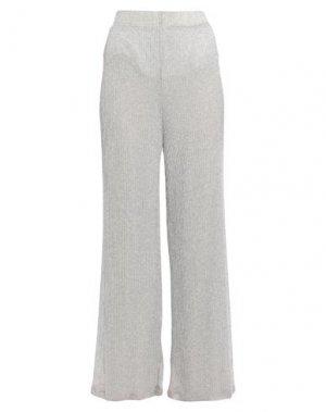 Повседневные брюки ATOS LOMBARDINI. Цвет: серебристый