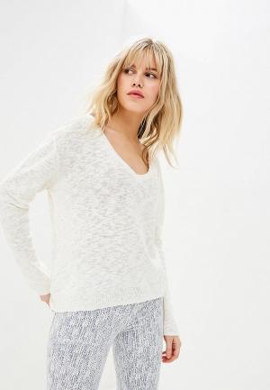 Пуловер Sacks Sack's. Цвет: белый