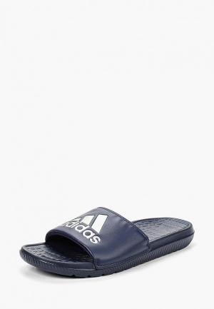 Сланцы adidas VOLOOMIX. Цвет: синий