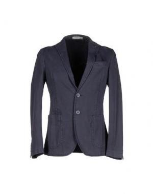 Пиджак MANUEL RITZ WHITE. Цвет: грифельно-синий