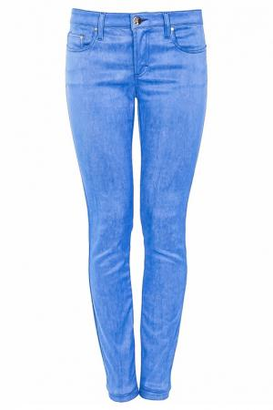 Брюки Versace Collection. Цвет: голубой