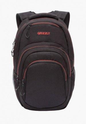 Рюкзак Grizzly. Цвет: черный
