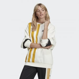 Свитшот Girls Are Awesome Originals adidas. Цвет: белый