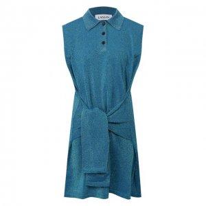 Платье Lanvin. Цвет: зелёный