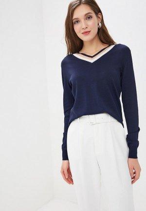 Пуловер Perspective. Цвет: синий