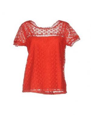 Блузка AXARA PARIS. Цвет: красный