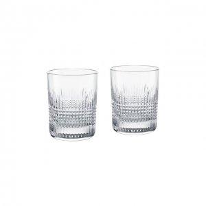 Набор из 2-х стаканов для виски Nancy №2 Baccarat. Цвет: прозрачный