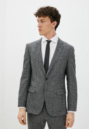 Пиджак Boss H-Hutson-Elbow-214. Цвет: серый