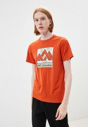 Футболка спортивная Columbia Zero Rules™. Цвет: оранжевый