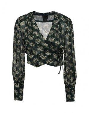 Pубашка ANNA SUI. Цвет: зеленый