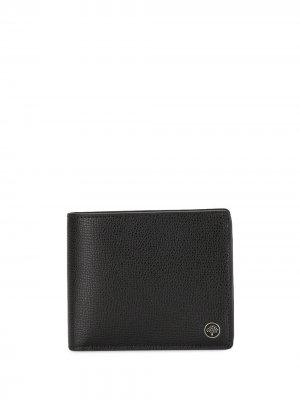 Бумажник с декором Tree Mulberry. Цвет: черный