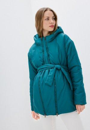 Куртка утепленная Modress. Цвет: бирюзовый