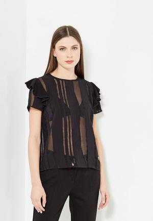 Блуза Versace Jeans. Цвет: черный