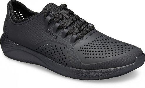 Кроссовки мужские CROCS Mens LiteRide™ Pacer Black/Black (Черный) арт. 204967. Цвет: черный