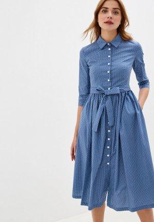 Платье Vika Ra. Цвет: синий