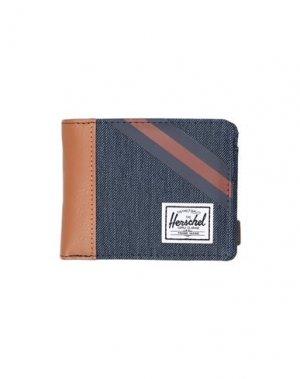 Бумажник HERSCHEL SUPPLY CO.. Цвет: синий
