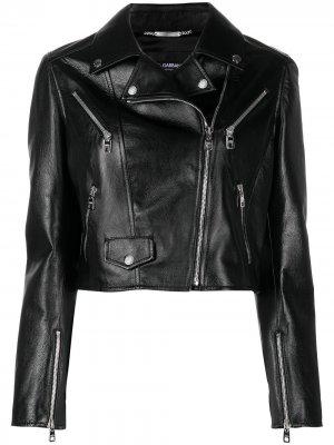 Байкерская куртка Dolce & Gabbana. Цвет: черный
