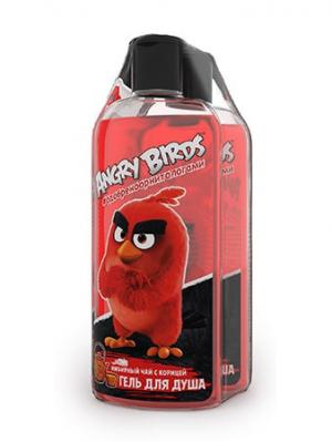 Гель для душа Энергетик серии Angry Birds 2шт*250 мл. Цвет: красный