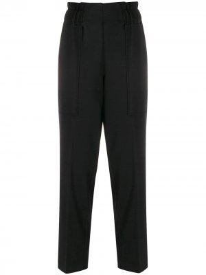 Укороченные брюки со вставками 8pm