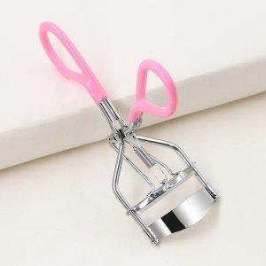 1шт щипцы для завивки ресниц SHEIN. Цвет: розовые