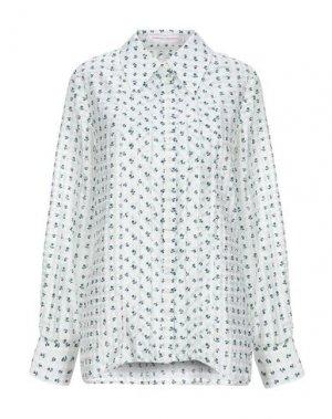 Pубашка CAROLINA HERRERA. Цвет: белый