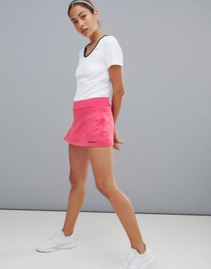 Розовая спортивная юбка -Розовый Head