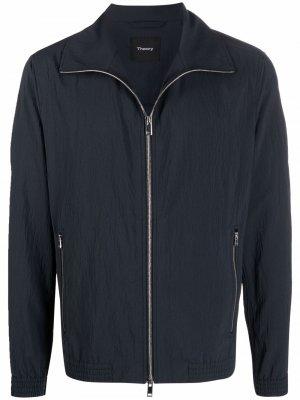 Куртка Marco на молнии Theory. Цвет: серый