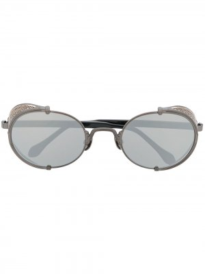 Солнцезащитные очки Matsuda. Цвет: черный
