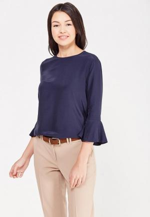 Блуза Tommy Hilfiger. Цвет: синий