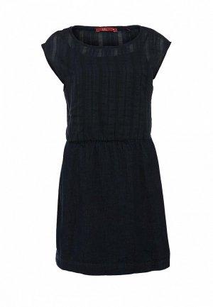 Платье EDC by Esprit ED002EWCPP00. Цвет: синий, черный